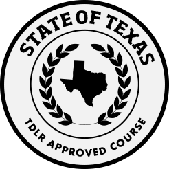 Texas Department of Licensing and Regulation Seal